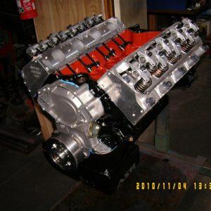 Ford 460 - 545 ci Stroker Engine. Super Cobra Jet Heads, solid Roller Cam, 700hp.