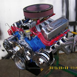Ford Cleveland 4V Stroker 378 ci, Solid Cam, 4V Heads. 600hp.
