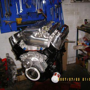 Holden 5.0L efi - 355ci Stroker Engine. Hyd. roller cam, 500hp.