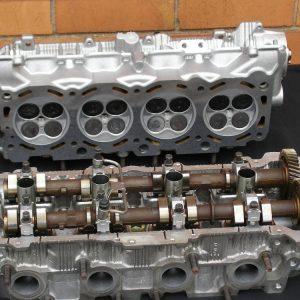 Toyota Landcruiser 2UZ V8 Reconditioned Cylinder Heads.