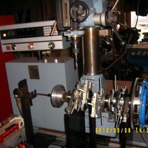Balancing V6 3000GT Crank. Engine Machining.