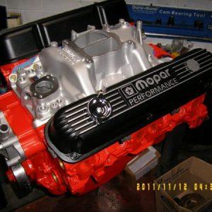 Chrysler 360 ci. Engine, 400hp.