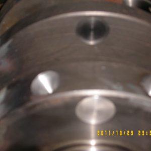Crankshaft Balancing Using Heavy Metal. Engine Machining.