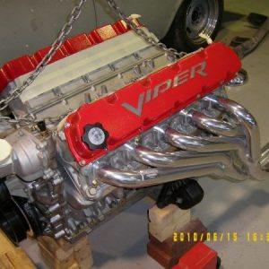 Dodge Viper V10 Engine. 720hp.