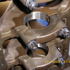 Line Honed V8 Block. Engine Machining.