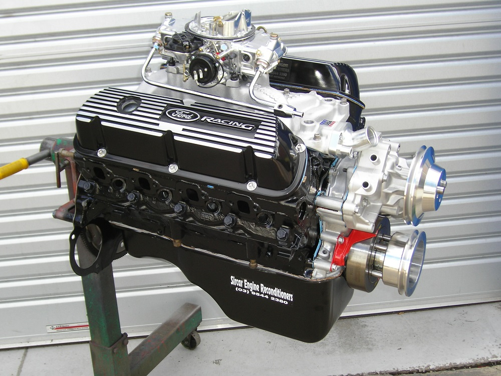 Ford Windsor Performance Engine Destined To Be Fitted In An Xk Falcon Wagon on 351 Windsor Camshaft