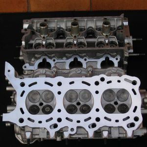 Suzuki H27A V6 Reconditioned Cylinder Heads.