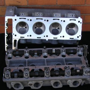 Aston Martin V8 Cylinder Heads Reconditioned.