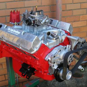 Holden 308 Stage 2 with VN Heads, Crane 286 Cam, etc. Shown with Accessories Fitted.