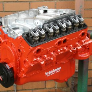 350 Chev Engine Shown with Supercharger Inlet Manifold Fitted.