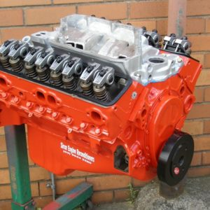 350 Chev Engine Stage 2 Supercharger Ready. Chev Engines.