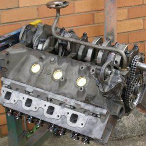 Bottom View of Holden 355 Stroker Engine being Built.