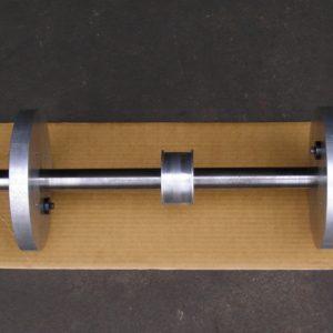 Calibration Mandrel for our Hines Computerised Dynamic Crankshaft Balancing Machine.