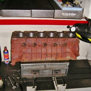 Decking a Ford BA 4.0L Turbo Block.