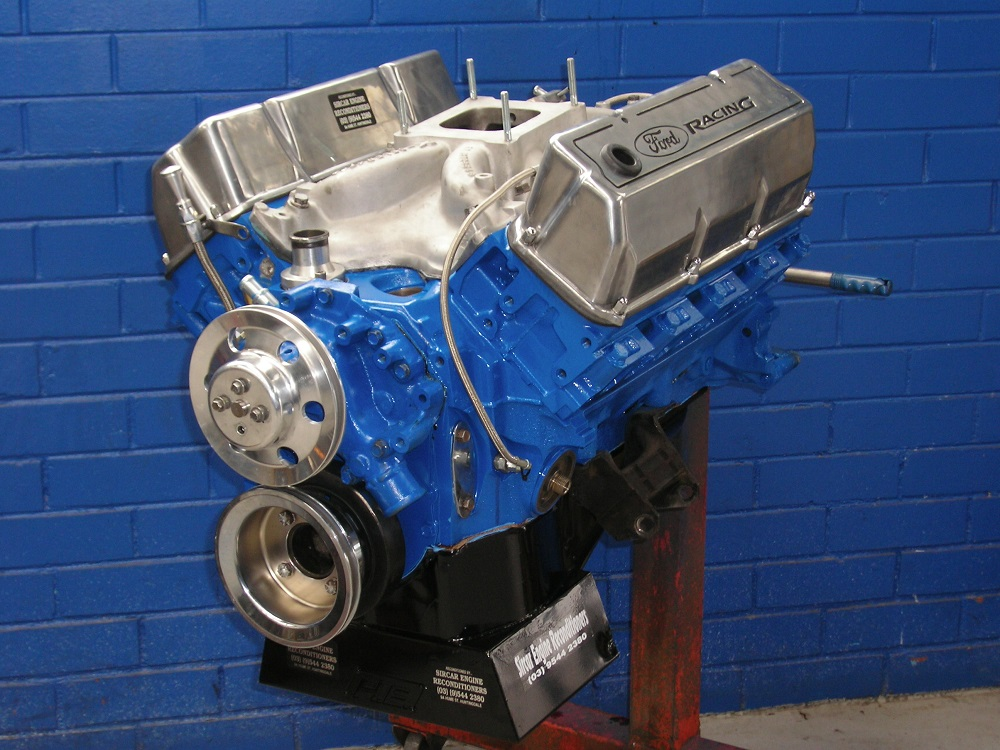 Ford Cleveland Stage Street Engine Hydraulic Cam Ported V Heads Hp