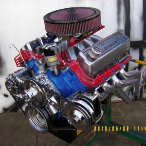Ford Cleveland 4V Stroker Engine. 378 ci, Solid Cam, 4V heads, 600 hp.