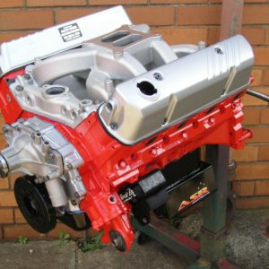 Holden 308/355 Stroker Engine. VN Heads, COME Crank, Air Gap RPM inlet Manifold, Compedtition Cams Hydraulic Cam, ASR Sump, Etc. Approximately 450 hp.