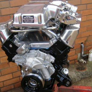Holden VK Group A 308 Engine. Twin Throttle Body, Club Racer, Solid Roller Cam.