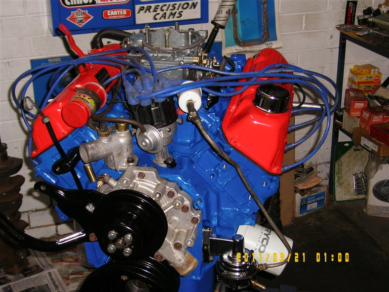 Ford Cleveland Tow Package on Ford 427 Windsor Stroker Engine