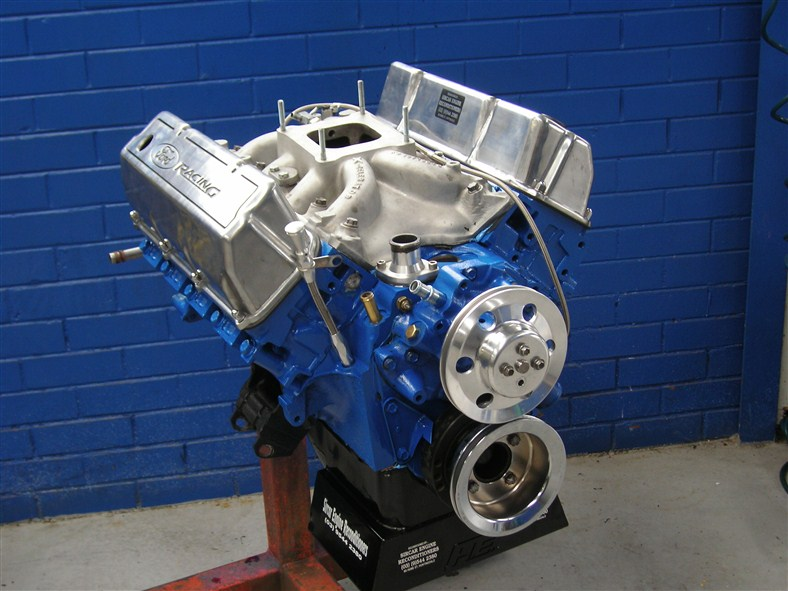 Ford Clev Street Strip Engine Hp on Ford 427 Windsor Stroker Engine