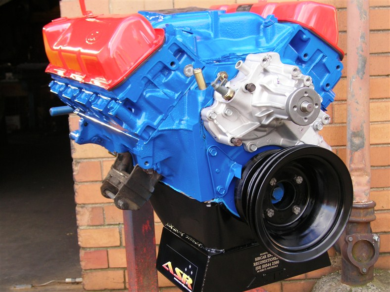 Ford Cleveland Stage Motor