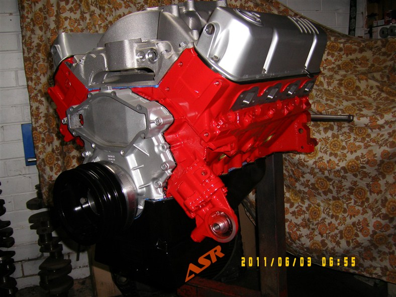 Holden 308 - 355 Stroker Engine, Solid Cam, 500hp.