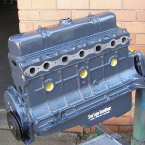138 Grey 6 Cylinder Holden Engine.