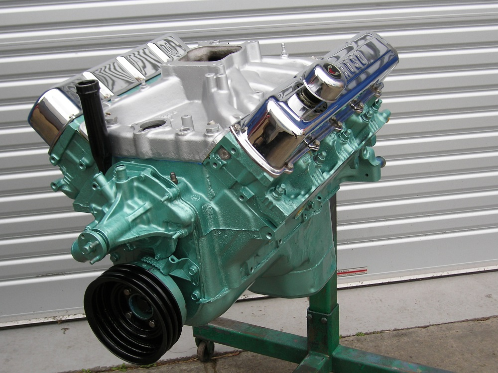 Oldsmobile 455 Reconditioned Engine.
