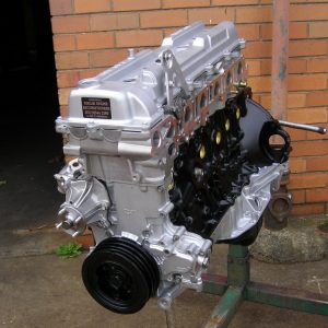 Toyota Landcruiser 1FZ-FE Engine.