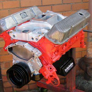Holden 308 Stage 2 Engine + Edelbrock Intake.