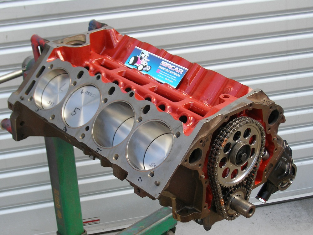 Race Short Motor. 308 Holden V8 Engine.