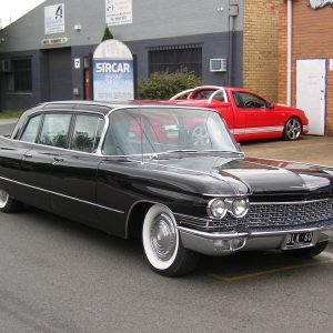 1960 Cadillac Limo with Sircar Built 390ci Engine.