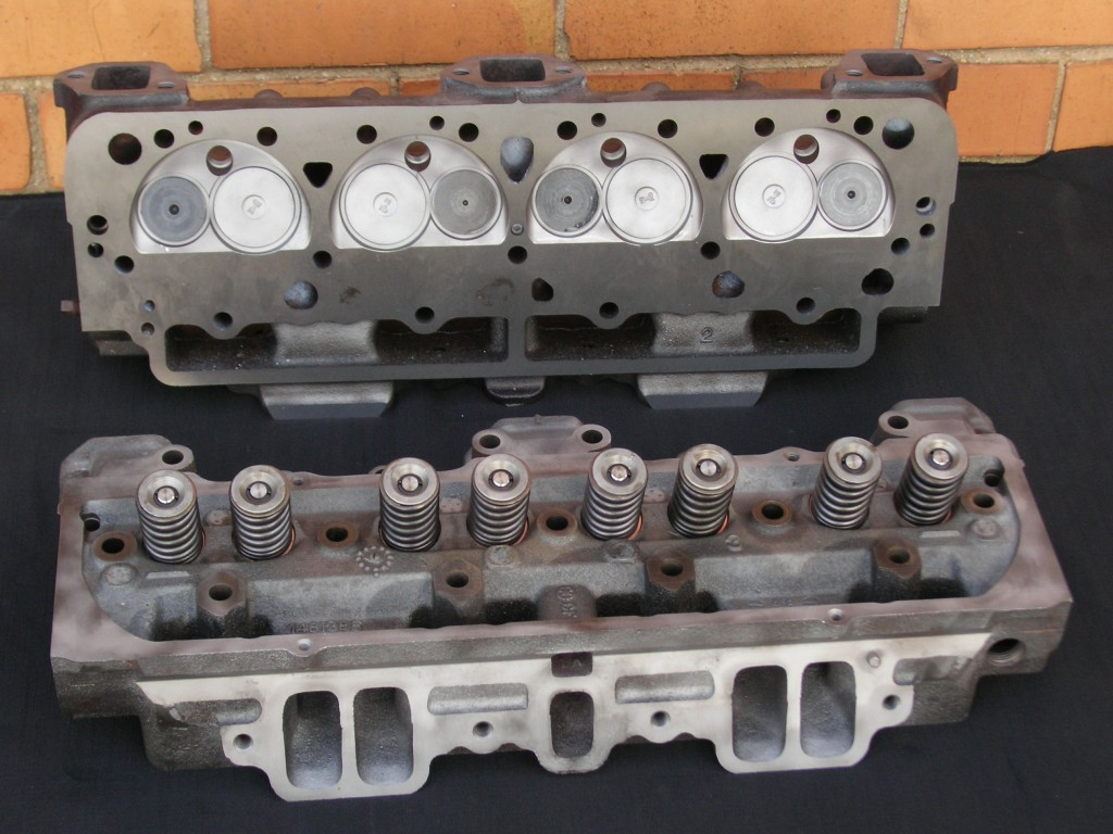 Cadillac 429ci V8 Reconditioned Heads - Unpainted.