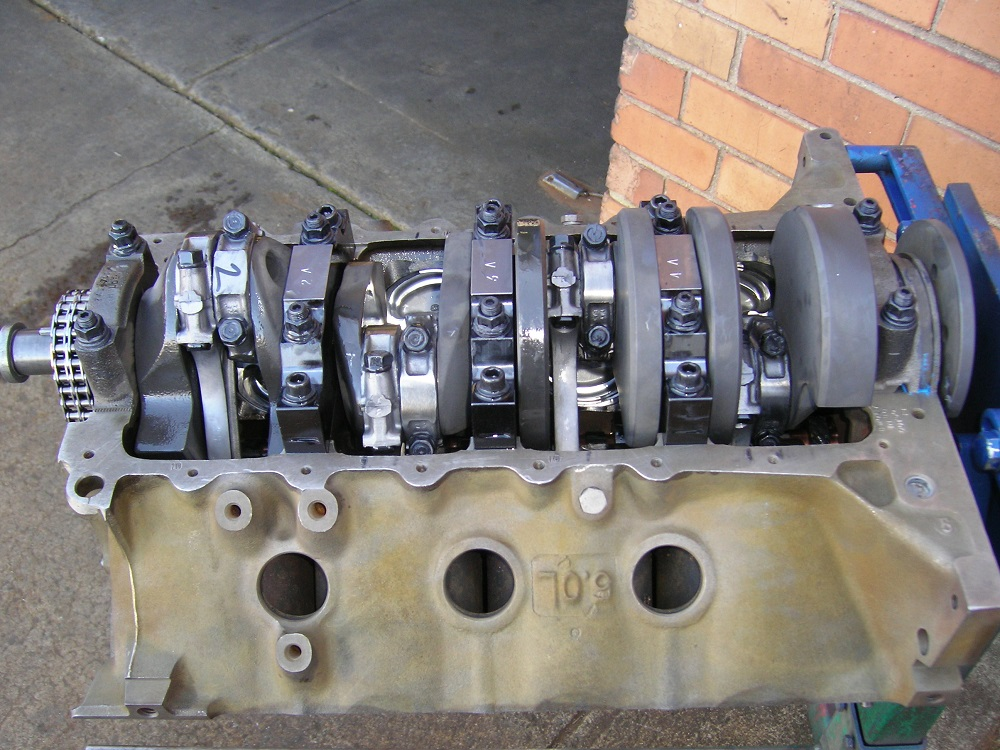 Holden 308 - 355 Stroker with 4 Bolt Main Cap Conversion & ARP Main Studs.