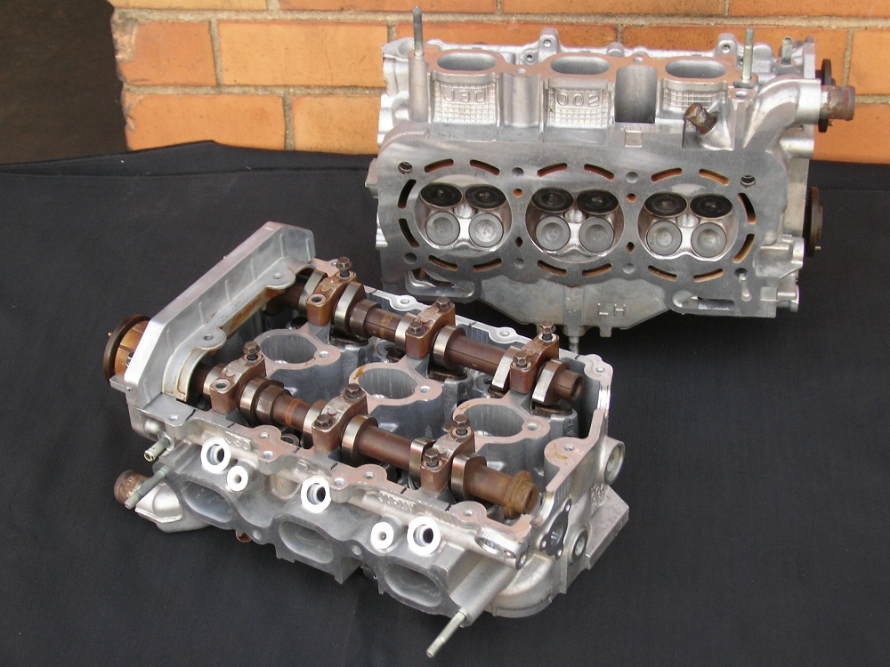 Subaru 3.0L V6 Reconditioed Cylinder Heads.