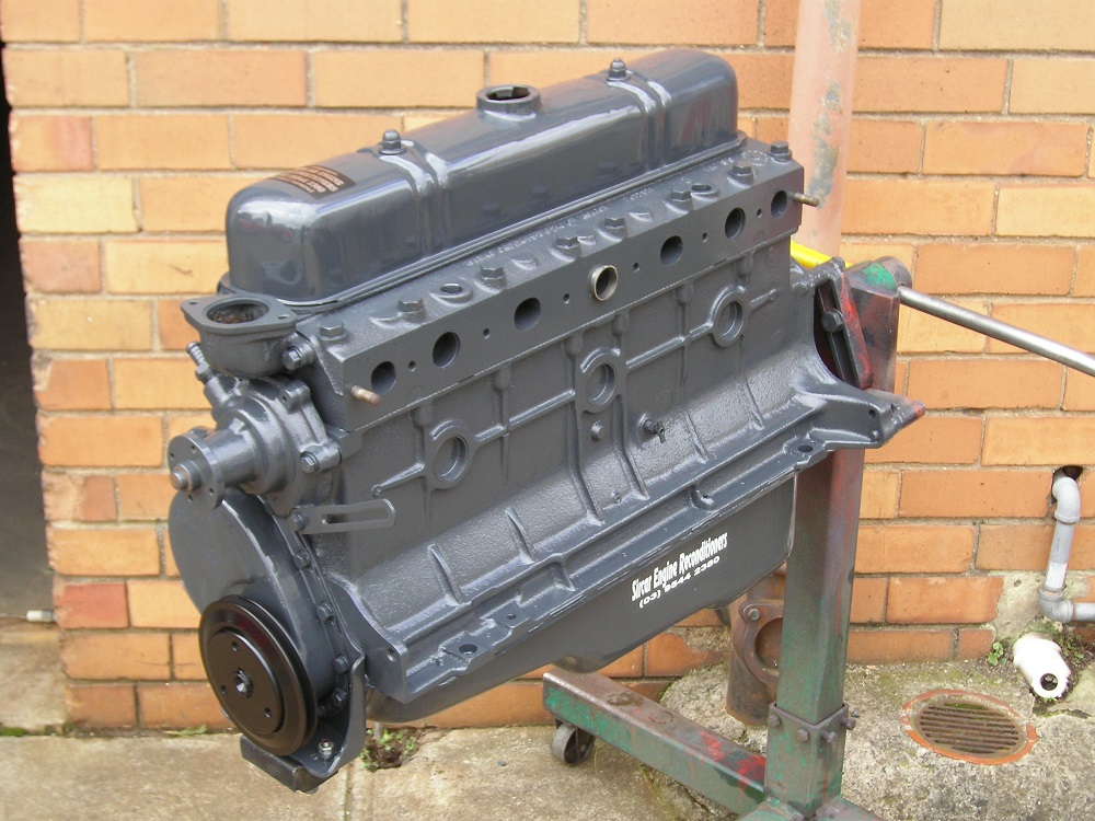 Holden 6 Cylinder Grey Motor Reconditioned.