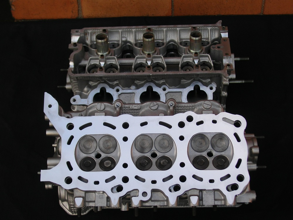 Suzuki H27A V6 Reconditioned  Heads.