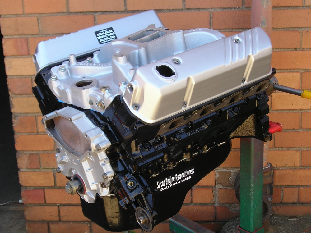 Holden 5.0L - 355ci Stroker Engine with Ported VN Heads, Roller Cam, Torque Power Carby Inlet Manifold, YT Roller Rockers, etc.