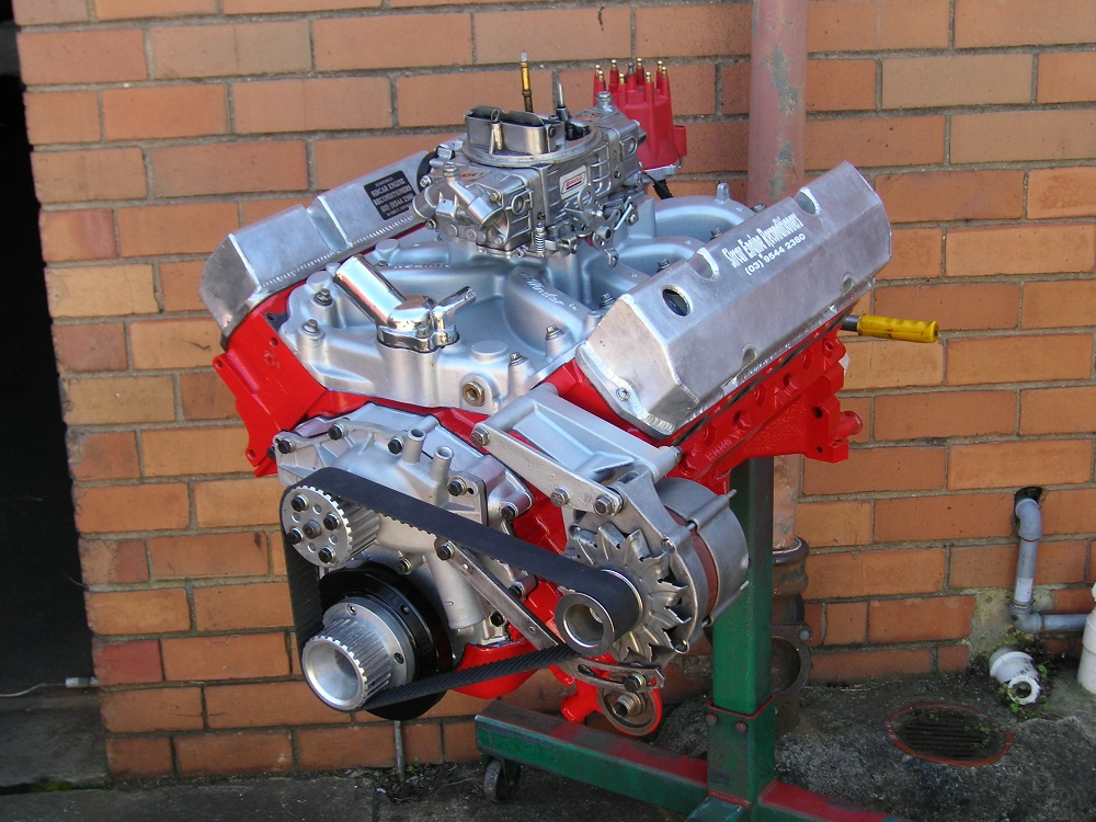 Holden VN Injected 5.0L Reconditioned to Stage 2 with Accessories Fitted Including a Redline Carby Inlet Manifold.