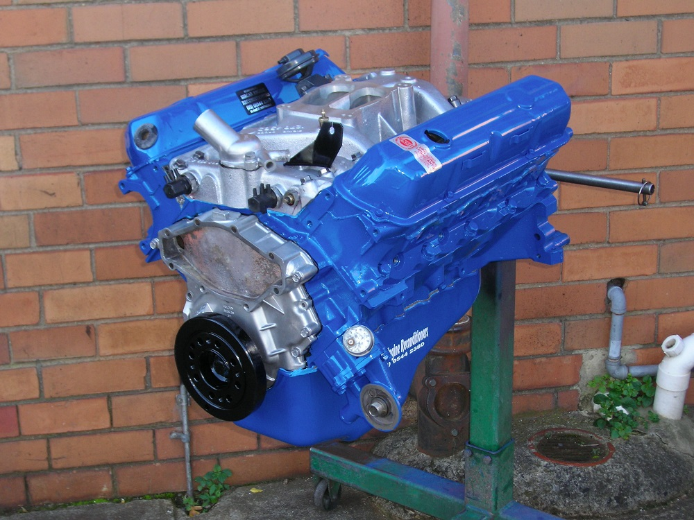 Holden 253 Blue Motor Reconditioned and Converted for ULP/LPG.