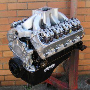 347 Windsor Stroker Engine. Alloy Heads, Custom Cam, Yella Terra Roller Rockers, etc.