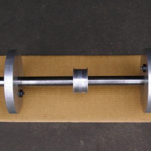 Calibration Mandrel for our Hines Computerised Dynamic Crankshaft Balancing Machine.