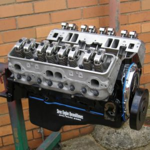 Chevrolet 383ci Stroker Engine Reconditioned  with Hydraulic Roller Camshaft, H Beam Conrods, Balanced, GMPP Fastburn Heads, Roller Rockers, etc.
