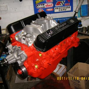 Chrysler 360 V8 Engine. 400 hp.