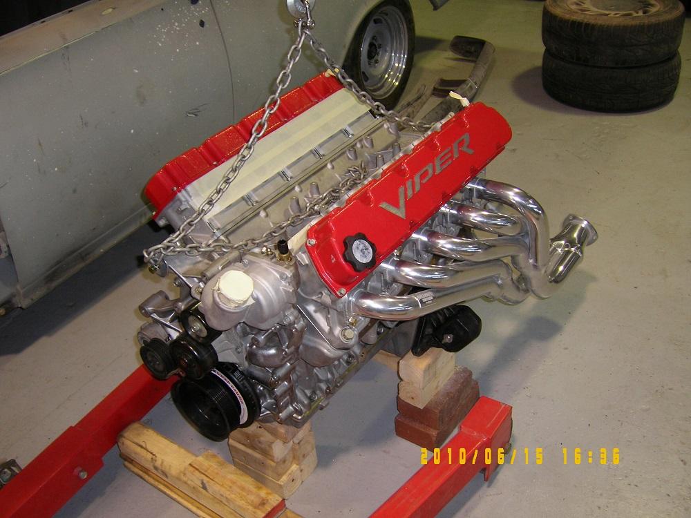 Dodge Viper V10 Engine, 720 hp. Dodge Engines.