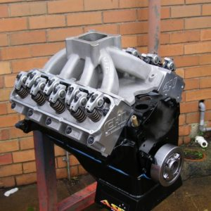 Ford 351 Cleveland, CHI 4V Alloy Heads, Hydraulic Roller Cam, 450+ hp.