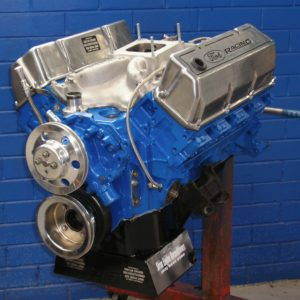 Ford 351 Cleveland Stage 3 Street Engine, Hydraulic Cam, Ported 2V Heads, 450 hp.
