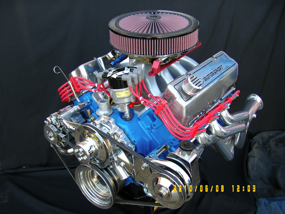Ford Cleveland 378 Stroker Engine, 600 hp.
