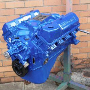 Ford XA GT 351 Cleveland 2V Stage 2 Engine. Comp Cams Camshaft, Balanced, 10.3:1 Compression Ratio, etc.