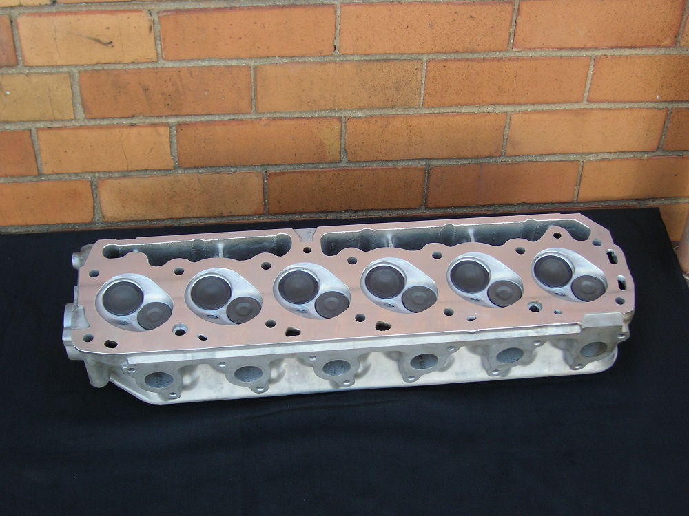 Ford XF 250ci Crossflow Reconditioned Cylinder Head.